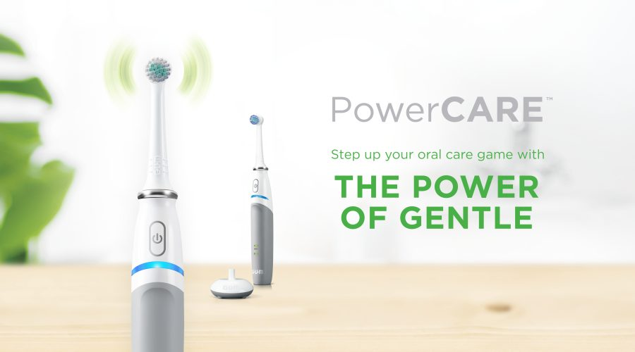 Sunstar GUM - New GUM PowerCARE Electric Toothbrush