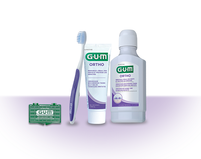 Solutions pour l'orthodontie GUM Ortho