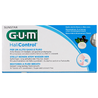 Sunstar GUM - GUM® Halicontrol™ Tabletki
