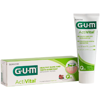 Sunstar GUM - GUM® ActiVital® Toothpaste - Daily gentle plaque protection