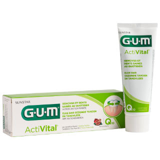 Sunstar GUM - Prévention quotidienne - Gel Dentifrice GUM® ActiVital®
