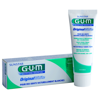 Sunstar GUM - Dentifrice dents blanches GUM Original White