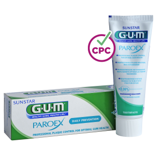 Sunstar GUM - GUM® PAROEX® Maintenance Toothpaste 0,06% - For maximum protection