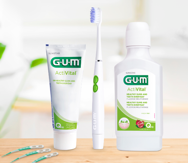 GUM Daily Care Solution